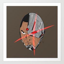 Cyborg 2 Art Print