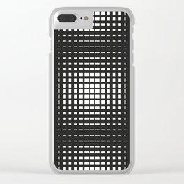 Lines #1 Clear iPhone Case