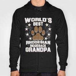 World's Best Rhodesian Ridgeback Grandpa Hoody