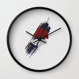 Uchiha Clan Patch Wall Clock