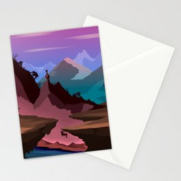 Race of the Tomb Raiders Stationery Cards