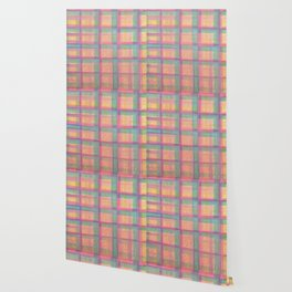 Pretty Pastel Plaids Wallpaper