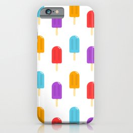Ice Pop Pattern iPhone Case