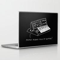 pun Laptop & iPad Skins featuring Moog pun by Alxndra Cook
