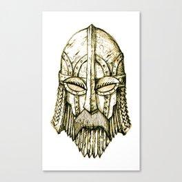 Morbaljak's Helm Canvas Print