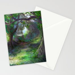 Elven Forest Stationery Cards