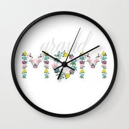 GrandMOM! Wall Clock