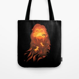 The Lion King - Into The Wild Tote Bag