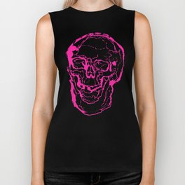 Death Laughs In Your Face Biker Tank
