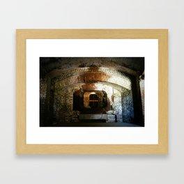 Ghosts of Fort Sumter Framed Art Print