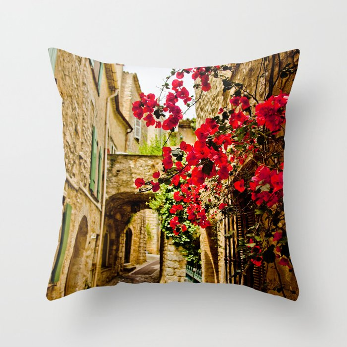 Provincial France Throw Pillow