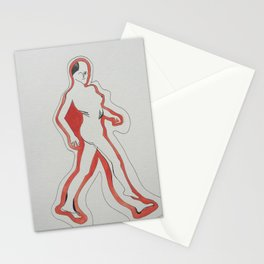 Depiction of a Woman Stationery Cards