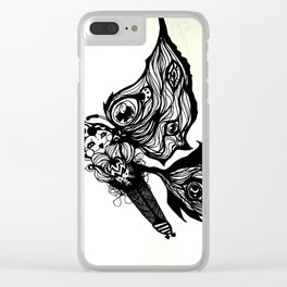 Flying Free Clear iPhone Case