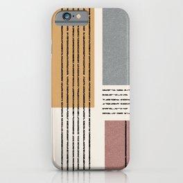 Modern Geo Design  iPhone Case