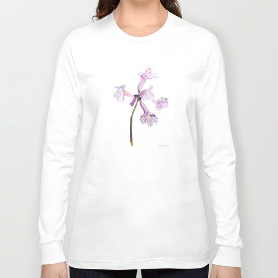 Flowers of the tree *Handroanthus sp* Long Sleeve T-shirt