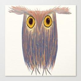The Odd Owl Canvas Print