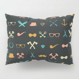 Hipster Pattern Pillow Sham