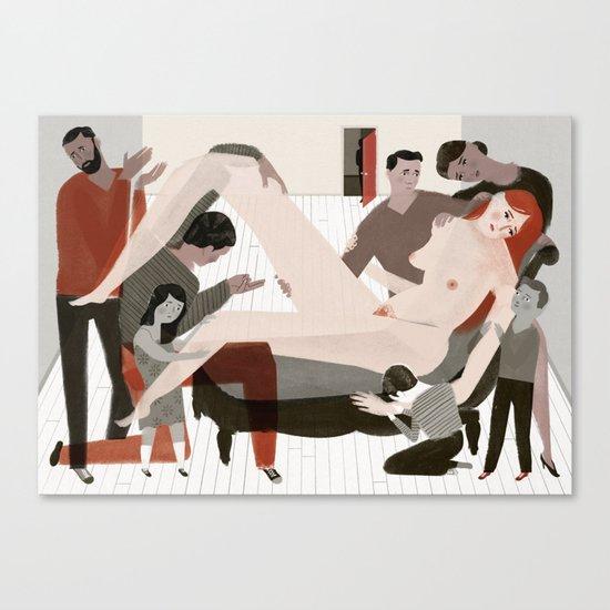 Hysteria Canvas Print