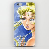 sailormoon iPhone & iPod Skins featuring Princess Serenity by Keith Gutierrez