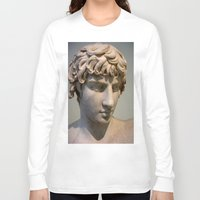 greece Long Sleeve T-shirts featuring Classic. Greece. by Andrew Brown