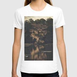 Texas Cypress Swamp Sunset T-shirt