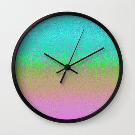 Glitter Star Dust G245 Wall Clock