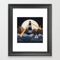 Show Me The Way To Go Home. Framed Art Print