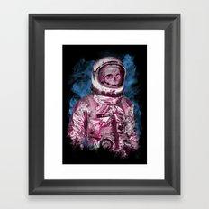 AstroSkull Framed Art Print