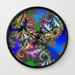 boring world without colors Wall Clock