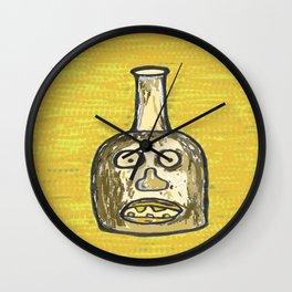 Face Jug Wall Clock