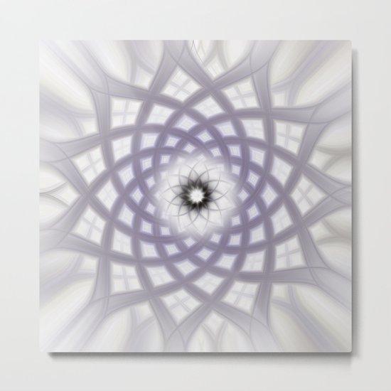 Lilac Twirl Metal Print
