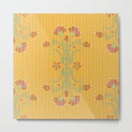 Kantha bouquet 2 Metal Print