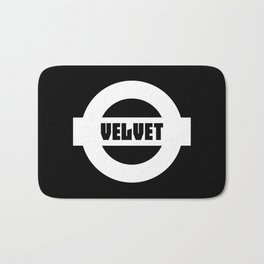 Velvet Bath Mat