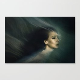 The Deep Nowhere Canvas Print