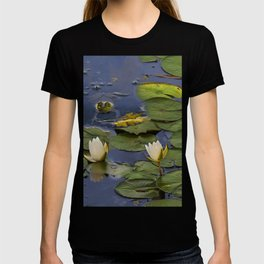 Hammond Pond - frog T-shirt