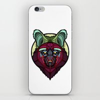 coyote iPhone & iPod Skins featuring Coyote by Graham Diehl