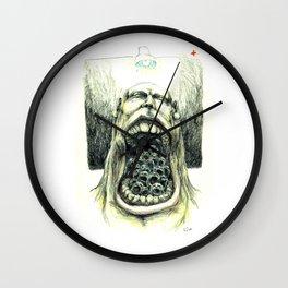 PLAGIATOR Wall Clock