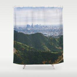 Griffith Park Shower Curtain