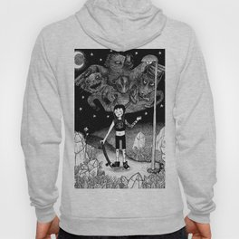Witchy Skateboarder Hoody