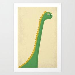 Cute Dinosaur Art Print