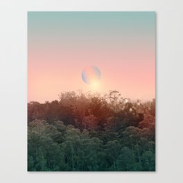 Landscape & gradients XXI Canvas Print