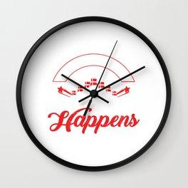 Split Happens Wall Clock
