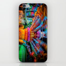 Cray Cray crazy fun at the carnival iPhone Skin