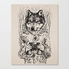 A Wolf in Sheep's Clothing Canvas Print