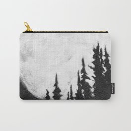 Full Moon & Trees Carry-All Pouch