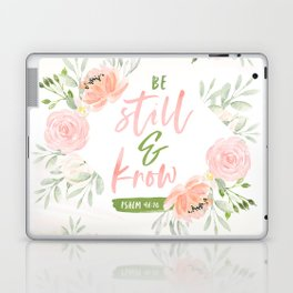 Be Still and Know Bible Verse Laptop & iPad Skin