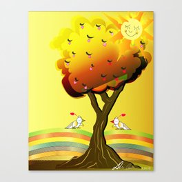 Inspiration of the day Canvas Print