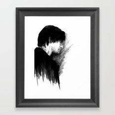 DARK COMEDIANS: Jim Carrey Framed Art Print