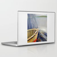 skyline Laptop & iPad Skins featuring Skyline by Vilnis Klints