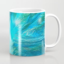 Warp in Blue Coffee Mug